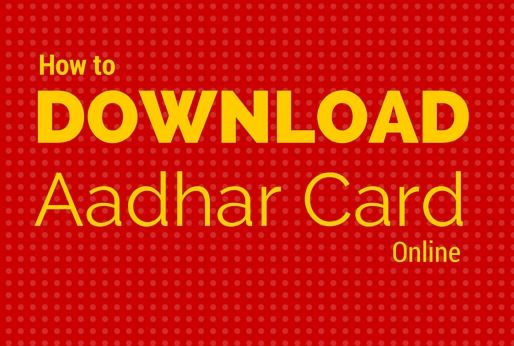Aadhar Card Download and Print