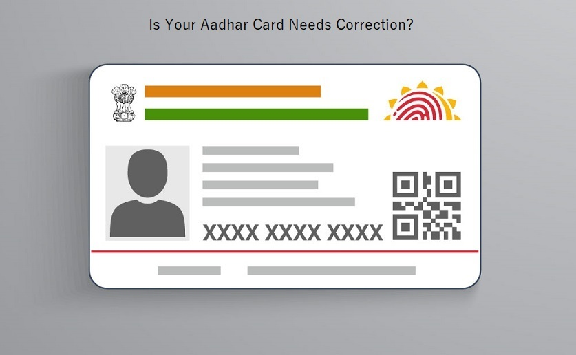 Aadhar Card Update/Correction